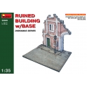 Ruined Building w/Base in 1:35