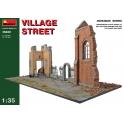 Village street in 1:35