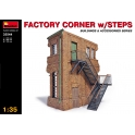 Factory corner with stairs