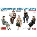 German Sitting Civilians'30s-'40s