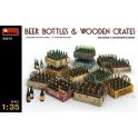 Beer Bottles & Wooden Crates