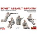 Soviet Assault Infantry (Winter Camouflag Cloaks)