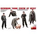 German Tank Crew at Rest