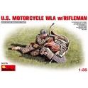 U.S.Motorcycle WLA with Rifleman
