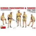 German Paratroopers & Tankers (Italy 43)