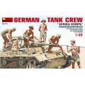 "German Tank Crew ""Africa Korps"""