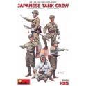 Japanische Tank Crew