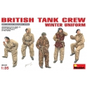 British Tank Crew in winter uniform
