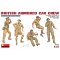 British armoured car crew