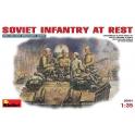 Soviet infantry at rest