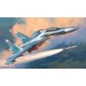 "Zvezda 7294 Chasseur russe Su-27UB ""Flanker C"""
