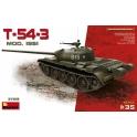 MiniArt 37015 Char soviétique T-54-3 modèle 1951 1/35ème