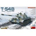 MiniArt 37011 Char soviétique T-54B modèle précoce avec intérieur détaillé 1/35ème