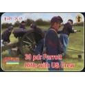 Strelets 182 Canon Parrott 30 pdr avec servants de l'Union