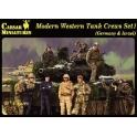 Caesar H102 Equipages de chars modernes - Set 1 (Allemagne et Israël)