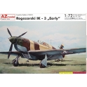 AZ 7297 Chasseur yougoslave Rogozarski IK-3 Début de production