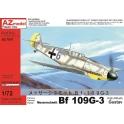 AZ Model 7607 Chasseur allemand Messerschmitt Bf-109G-3 Haute altitude