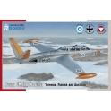 Special Hobby 72373 Avion d'entraînement Fouga CM.170 Magister Forces aériennes allemande, finlandaise et autrichienne