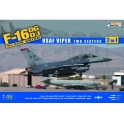 Kinetic 48005 F-16DG/DJ Block 40/50 USAF