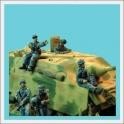 CP TQD FJ08 Fallschirmjager stug assault gun crew
