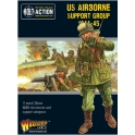 Warlord Games 402213105 Groupe support Parachutistes américains