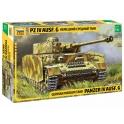 Zvezda 3674 Char allemand Panzer IV G