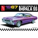AMT 981 - 1967 Chevy Impala SS 1/25