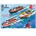 AMT 1056 - Customizing Boat (3en1) 1/25