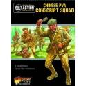 Korean War: Chinese PVA Conscript Squad