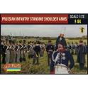 Strelets 180 Infanterie prussienne en attente armes à l'épaule