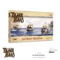Warlord Games 792010002 Blacks Seas Escadre de 3ème rang (1770-1830)