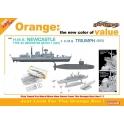 Cyber Hobby 7106 Destroyer britannique Type 42 HMS Newcastle + Sous-marin HMS Triumph