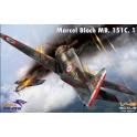 Dora Wings 48017 Chasseur français Bloch MB.151C.1