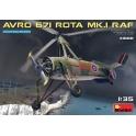MiniArt 41008 Autogyre britannique Avro 671 Rota - Royal Air Force