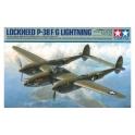 Tamiya 61120 Chasseur américain P-38 F/G Lightning
