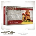 Warlord Games 152412001 Eléphant de guerre macédonien