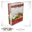 Warlord Games 152214027 Infanterie thureophoroi macédonienne