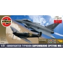 Airfix A50040 Eurofighter Typhoon  - Supermarine Spitfire mk1