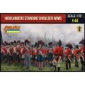 Strelets 199 - Highlanders debout armes à l'épaule
