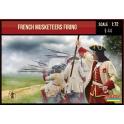 Strelets 234 Mousquetaires français tirant - Guerre de Succession d'Espagne 1701-1714