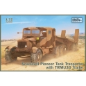 IBG 72080 Camion britannique Scammel Pionneer avec remorque porte-chars TRMU30
