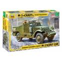 Zvezda 3519 M3 Scout Car