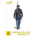 Hät 8319 Fantassins Guerre de Sécession en marche - Set 1