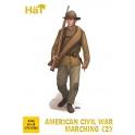 Hät 8332 Fantassins Guerre de Sécession en marche - Set 2