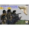 Hät 8338 Echantillon Fantassins autrichiens - Période napoléonienne