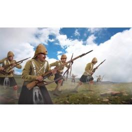 Strelets M139 Highlanders à l'attaque Guerre des Boers 1899-1902
