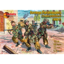 Mars 72119 Parachutistes allemands en uniforme tropical - Seconde Guerre mondiale