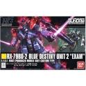 """Bandai hobby 208 RX-79BD-2 Blue destiny Unit 2 """"Exam"""""""