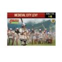Strelets 248 Armée médiévale de bourg