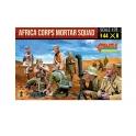 Strelets 280 Unité Afrika Corps avec mortier